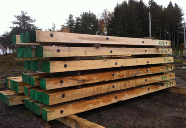 Timber mats and pipeline skids a l wood inc