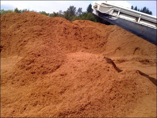 Mulch Erosion Control
