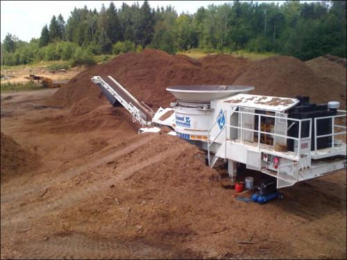 Mulch for erosion control